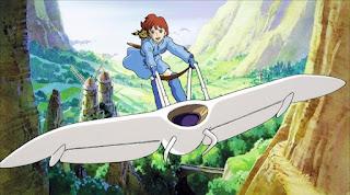 Nausicaä in volo sul Mowe