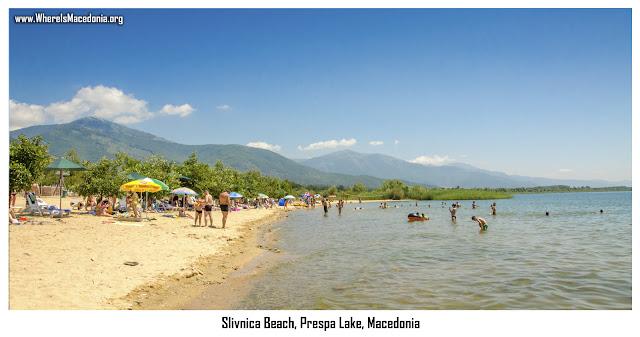 Slivnica Beach, Prespa Lake, Macedonia
