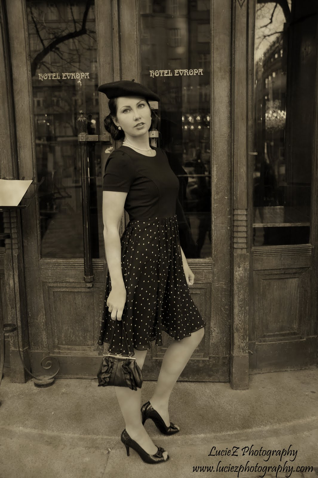 LUCIEZ PHOTOGRAPHY: Fashion Of The 30s Photoshoot / Moda
