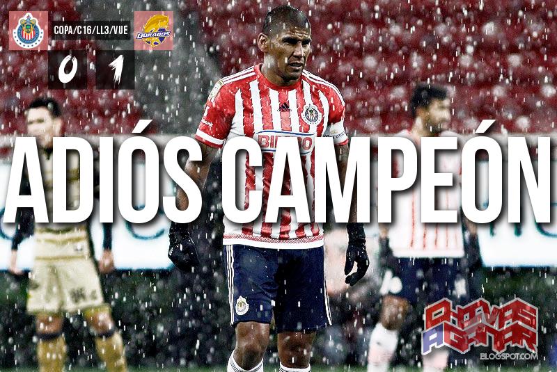 CD Guadalajara 0-1 CS y D Dorados de Sinaloa - Copa MX - Clausura 2016 - Llave 3 - Vuelta.
