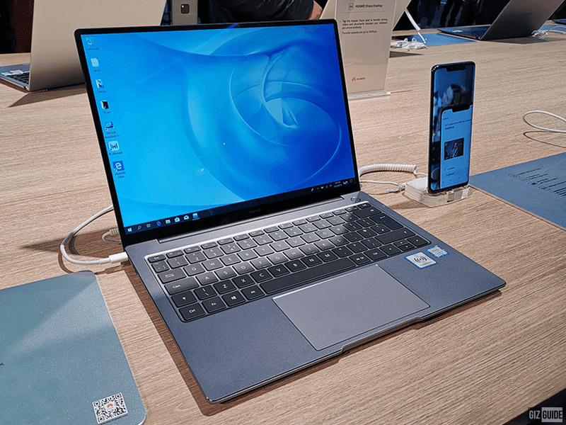 #MWC19: Huawei releases MateBook 14 laptop with up to Intel Core i7 8565U processor