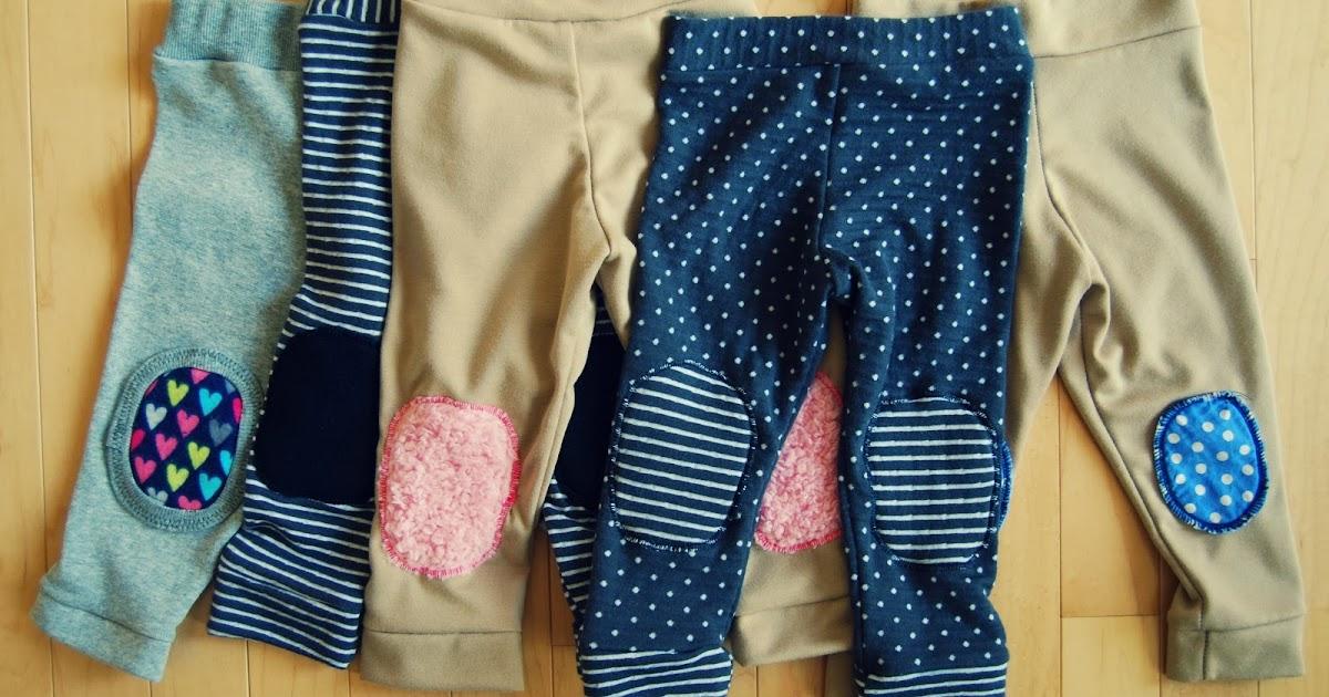 Liza Jane Sews Crawling Baby Pants