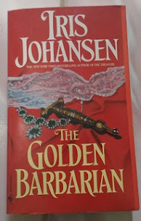 Novel The Golden Barbarian by Iris Johansen Bekas