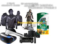 Logo ''Assassin's Face'': vinci gratis miniature, kit, felpe e non solo