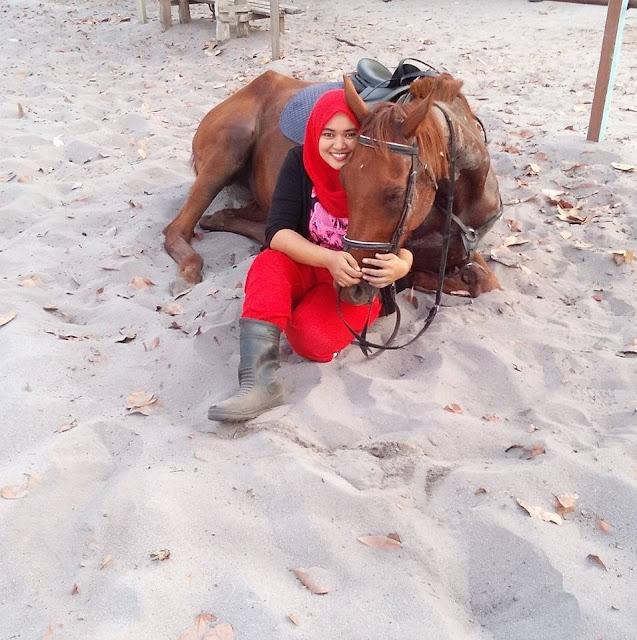 Aktiviti Berkuda di Kampung Penchalang || Hanna 6