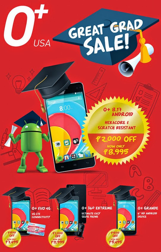 O+ USA Graduation Sale, O+ USA 2015