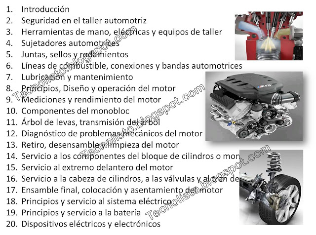"""curso manual mecanica automotriz"""