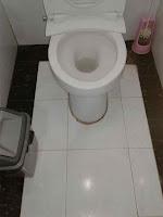 cuci toilet / kamar mandi