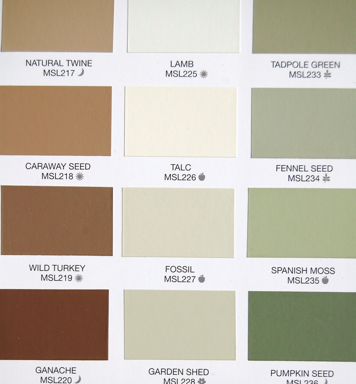 Walmart Interior Paint Color Chart
