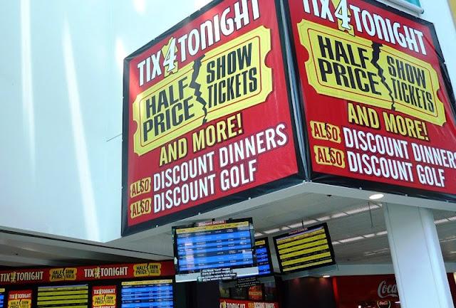 Tix4Tonight em Las Vegas | Ingressos baratos para shows