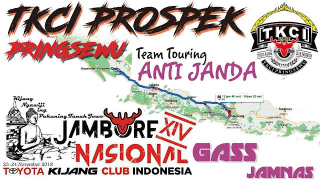 Desain Stiker TKCI Prospek Pringsewu Jambore Nasional 2018