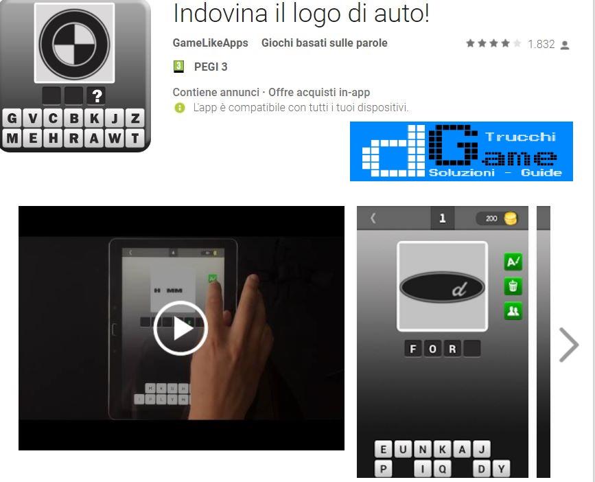 Soluzioni Indovina il logo di auto | Tutti i livelli risolti con screenshot soluzione