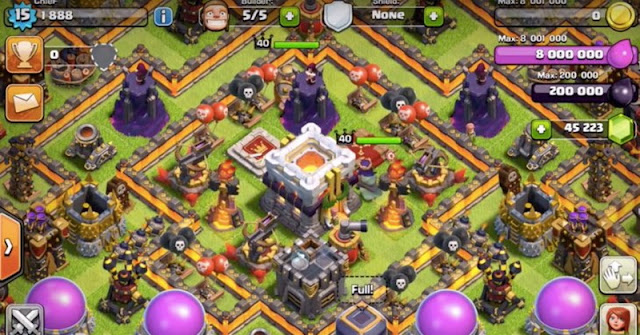 Tips Upgrade Defense Town Hall Level  11 di Clash of Clans