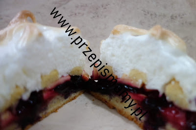 Ciasto owocowa chmurka