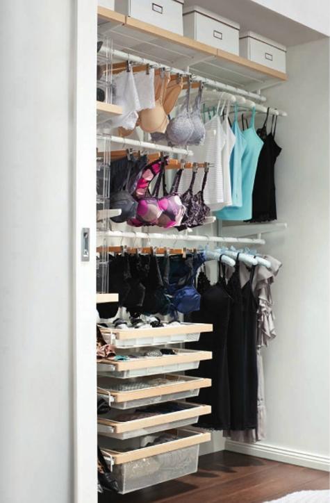 Como guardar sua lingerie