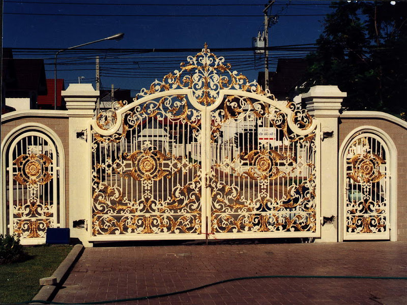 Iron gates design gallery - KERALA HOME DEZIGN on Iron Get Design  id=58928