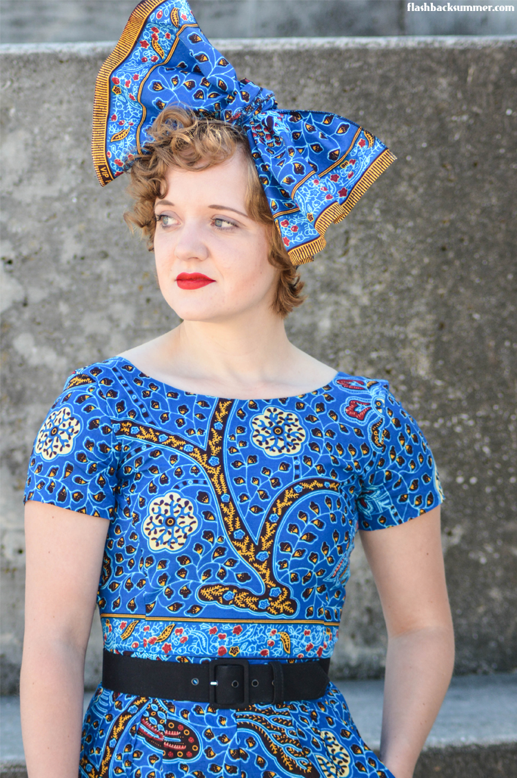 Flashback Summer: 4 Tips for Mixing Vintage and African Style with Ankara & Lace