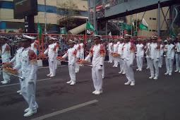 Sedikit Cerita Tentang Parade Juang 2017 di Kota Pahlawan 'Surabaya'