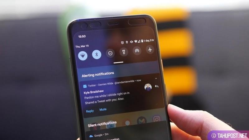Notifikasi Shade Android 11