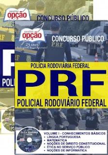 Apostila Policial Rodoviário Federal - Grátis Cd Concurso PRF 2016.