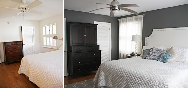 Before & After Bedroom Makeover