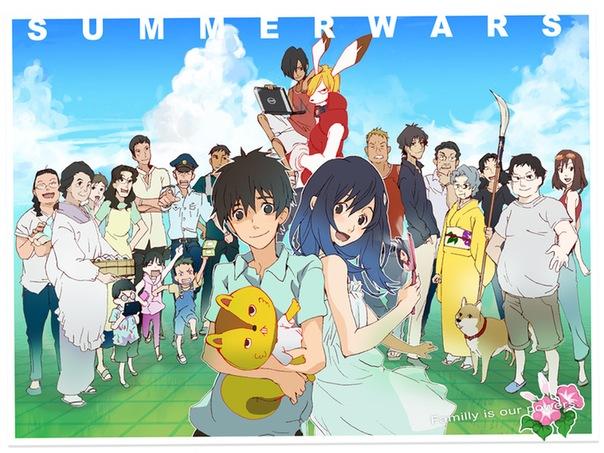 Summer Wars BD Subtitle Indonesia