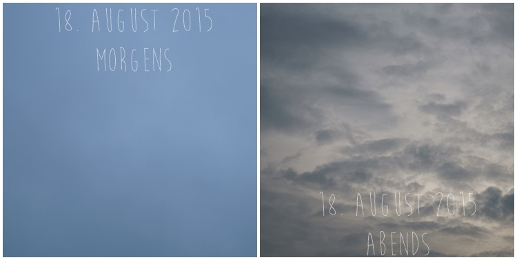 Blog & Fotografie by it's me! - Himmel am 18. August 2015