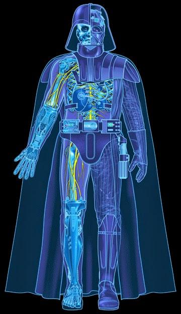 Armadura protectora Darth Vader