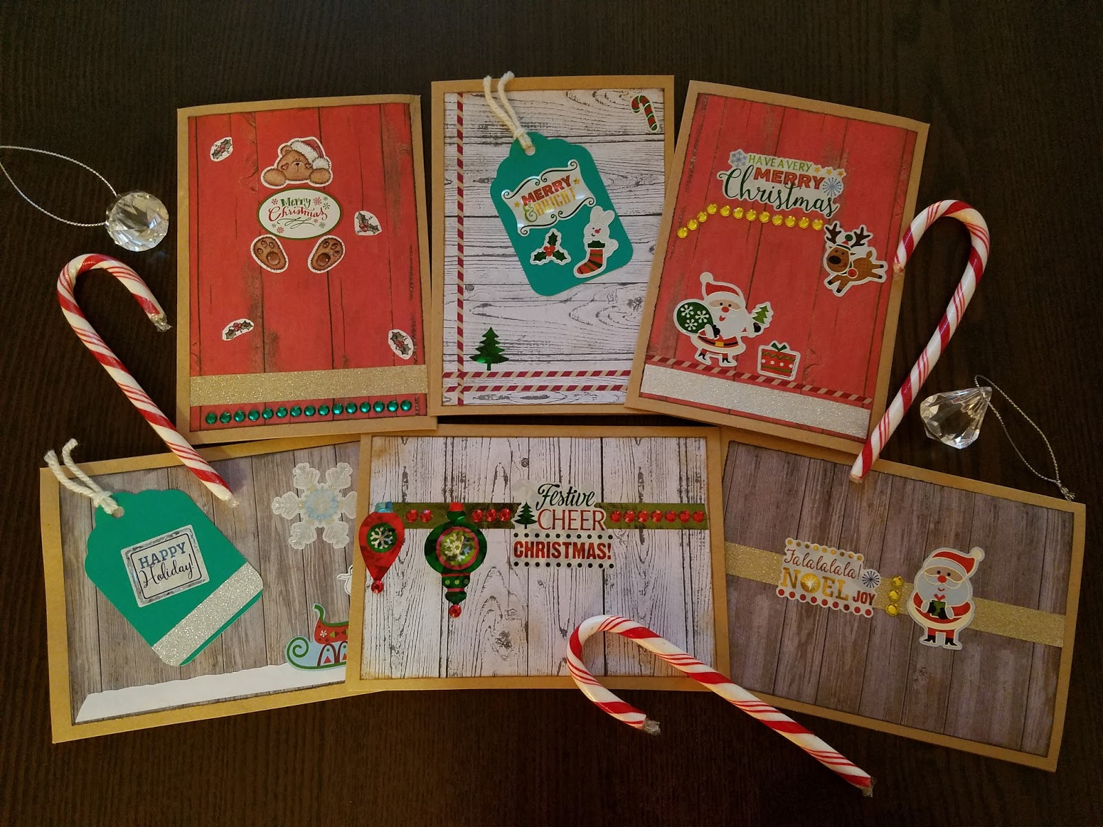 handmade rustic christmas cards 2017 - Rustic Christmas Cards