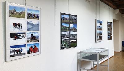 Exposición del  50 aniversario del Grupo de montaña Moscón de Grado