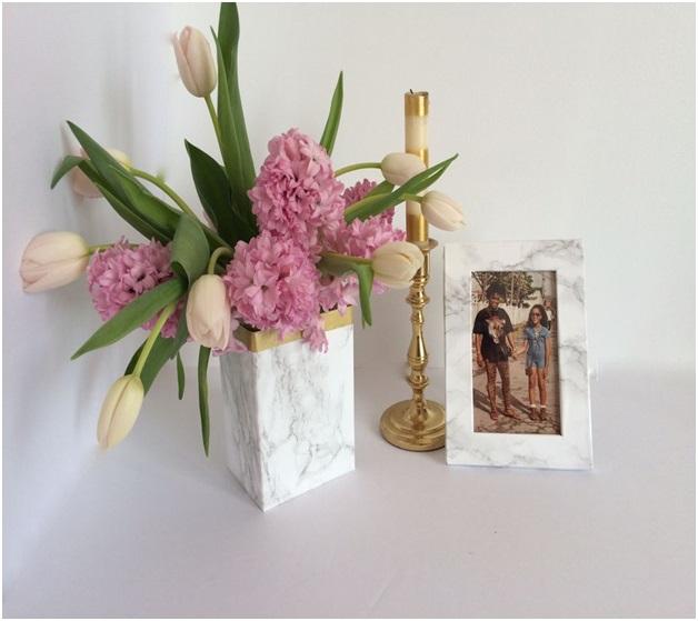 el yapımı vazo modelleri