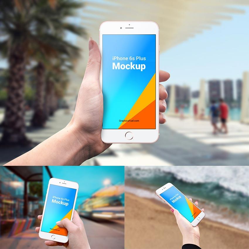 IPhone 6s Plus Mockups PSD