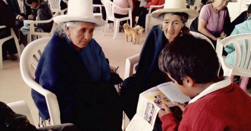 Hasta el lunes 9 pueden presentar trabajos para el concurso «Los abuelos ahora» www.pension65.gob.pe
