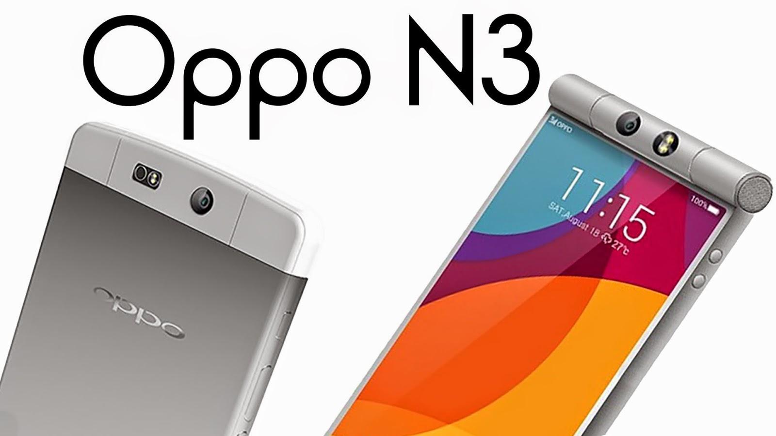 Harga dan Spesifikasi Oppo N3 Terbaru