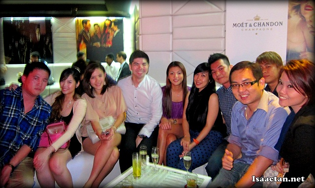 Bloggers at Moët Hennessy Diageo Media Appreciation Night