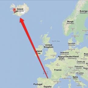 De España a Islandia