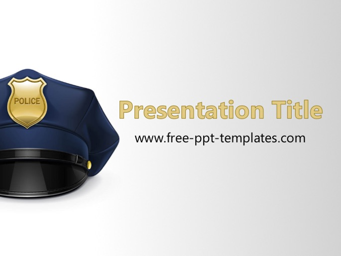 Free powerpoint templates police ppt template toneelgroepblik Image collections