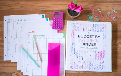 budget by paycheck printables