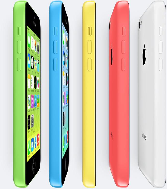 iPhone 5C - Fonte/Reprodução: Apple