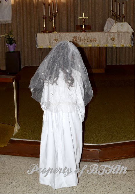 miss grace first communion acolyte robe