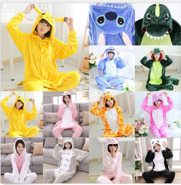 Diversos modelos de pijamas colsplay