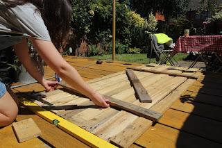 building a garden gate