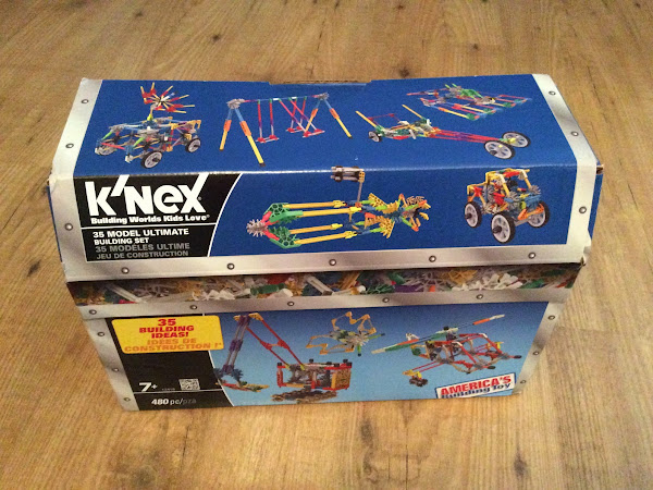 Time to build with K'NEX