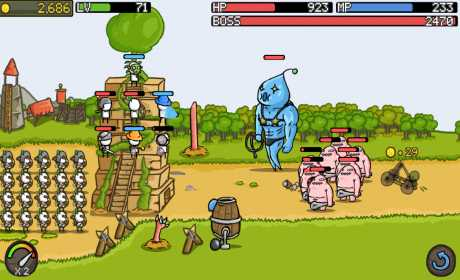 Game Strategi Offline & Online Android