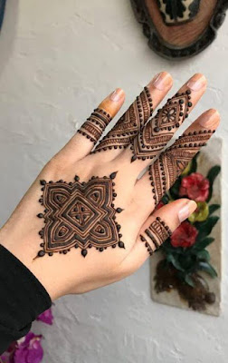 mehndi designs on fingers only