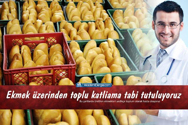 Fırın ekmeklerini yemek, uzun vadeli bir intihar teşebbüsüdür. | Mehmet Fahri Sertkaya