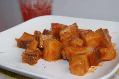receta de papada picante con tomate