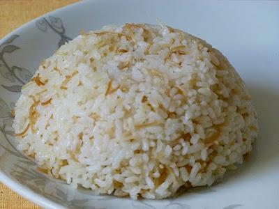 Ägyptischer Reis Rezept Zubereitung Ägypten Nudeln Roz