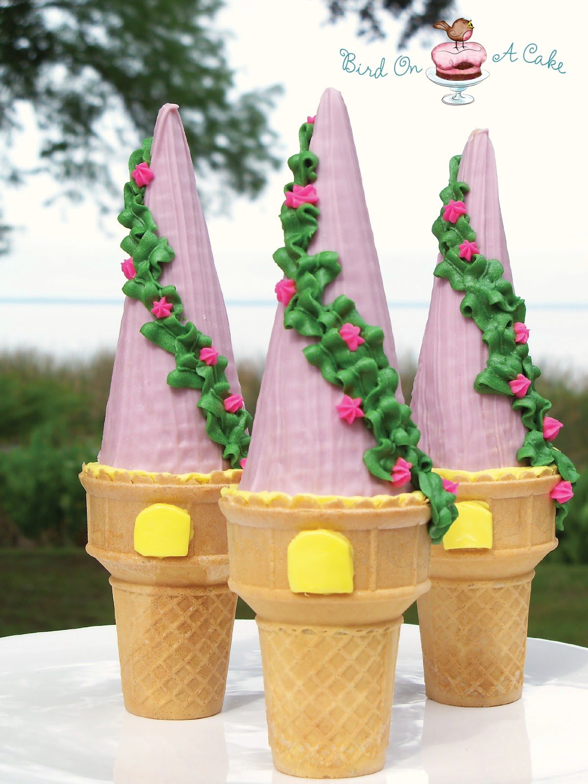 How To Make A Rapunzel Tower Cake