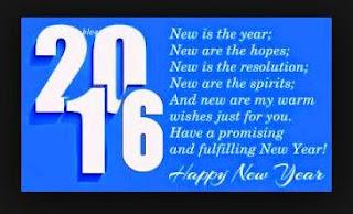 Kata Ucapan Sms Tahun Baru 2016
